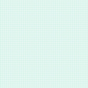 plaid light teal :: fruity fun
