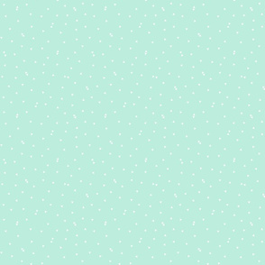 triangle confetti light teal :: fruity fun