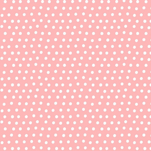 dots light pink :: fruity fun bigger