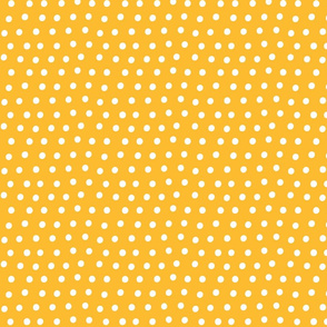 dots orange :: fruity fun bigger