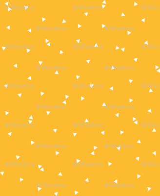 triangle confetti orange :: fruity fun bigger