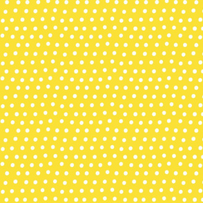 dots yellow :: fruity fun bigger