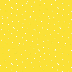 triangle confetti yellow :: fruity fun bigger