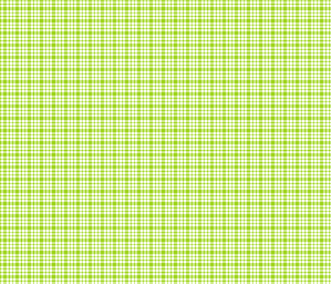 plaid lime green :: fruity fun bigger fabric by misstiina on Spoonflower - custom fabric
