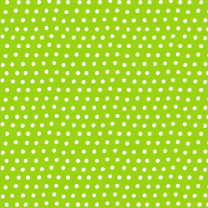 dots lime green :: fruity fun bigger