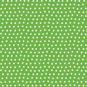 dots green :: fruity fun bigger