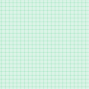 plaid mint green :: fruity fun bigger
