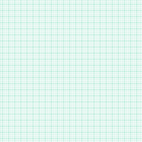 plaid light teal :: fruity fun bigger