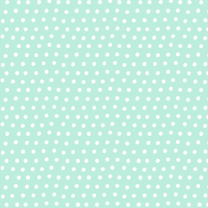 dots light teal :: fruity fun bigger