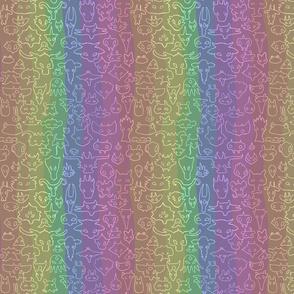 Lil Monsters - Rainbow