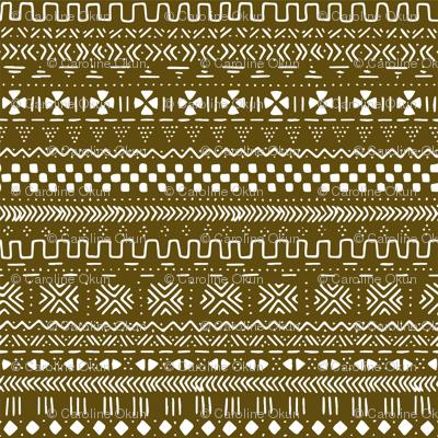 Brown Mudcloth
