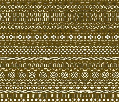 Brown Mudcloth  fabric by brainsarepretty on Spoonflower - custom fabric