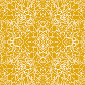 Knotted Rose - Mustard