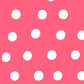 dots pink :: fruity fun huge
