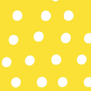 dots yellow :: fruity fun huge