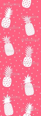 pineapples + pink :: fruity fun huge