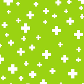 positive plus lime green :: fruity fun huge