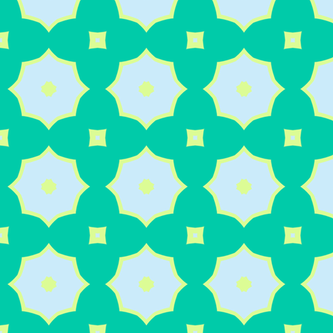 Bright Quatrefoil fabric by blue_dog_decorating on Spoonflower - custom fabric