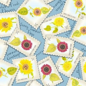 SunflowerStamp