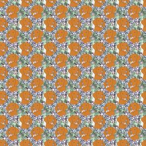 Floral Vizsla portraits - small
