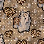 Yorkie - Leopard Princess