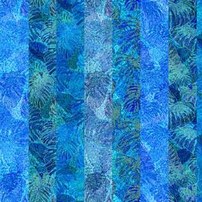 Kaua'i Ocean Monstera Stripes