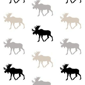 multi moose (small scale) || classic woodland collection