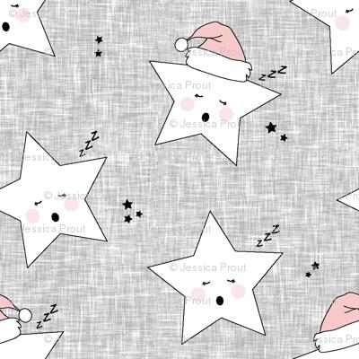 sleepy stars (micro scale) || holiday rose quartz