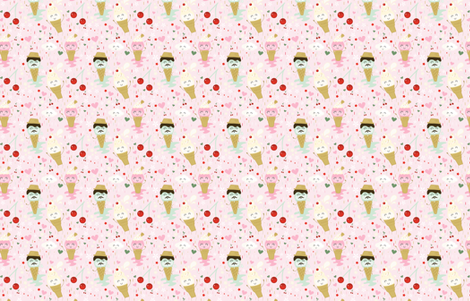 ice-cream-dreams fabric by krista_power on Spoonflower - custom fabric