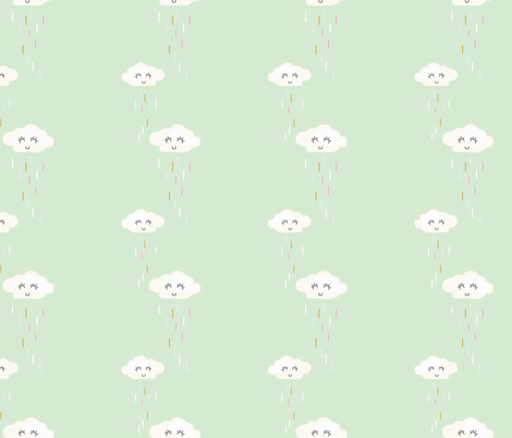 sprinkle-clouds fabric by krista_power on Spoonflower - custom fabric