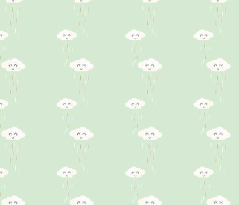 sprinkle-clouds fabric by krista_power on Spoonflower - custom fabric