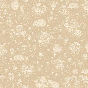Hedgehog Haven sand mix