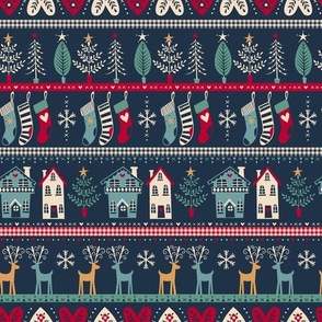 vintage nordic christmas