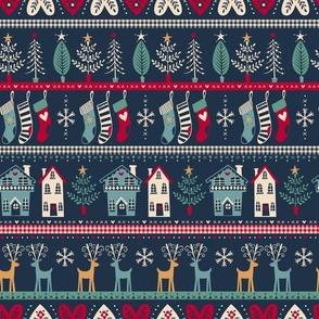 vintage nordic christmas
