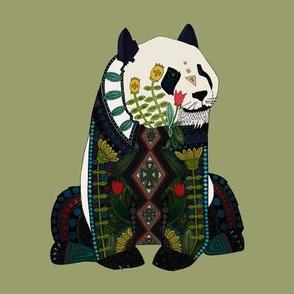 panda sage green swatch