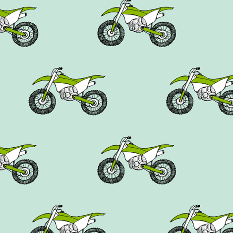 Motorcross fabric by revista on Spoonflower - custom fabric