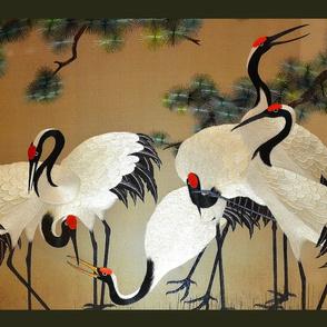 chinese crane panel