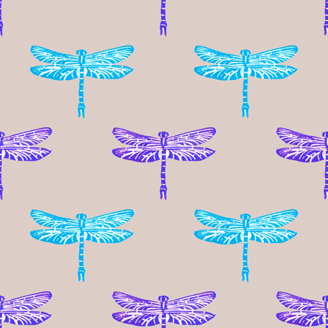 dragonfly fabric by nimanoma on Spoonflower - custom fabric