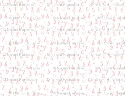 Numbers | Provincial Pink