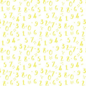 Numbers | Yellow
