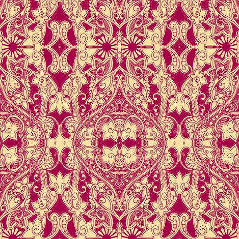 Christmas Comes But Once a Year fabric by edsel2084 on Spoonflower - custom fabric
