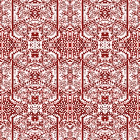 Morocco Star fabric by edsel2084 on Spoonflower - custom fabric