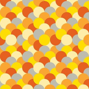 Uneven Circles-Orange