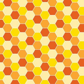 Honeycomb-Orange