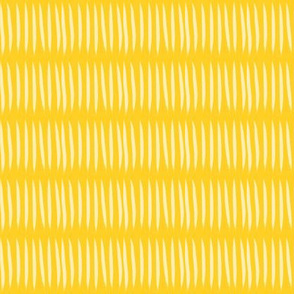 yellow tiger stripes on mustard