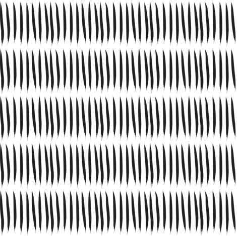 Black and white tiger stripes fabric pencilmein - Tiger stripes black and white ...