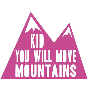 Kid you will mountains - orchid