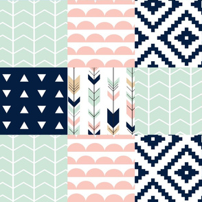 Briar Woods Wholecloth Patchwork
