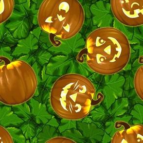 Halloween JackO Green