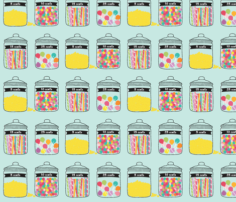 Penny Candy Lolly fabric by mariah_girl on Spoonflower - custom fabric